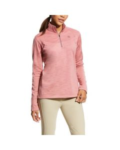 Ariat Ladies Conquest 1/2 Zip Top Plaster