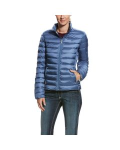 Ariat Ladies Ideal Down Jacket Grisblue