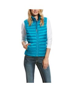 Ariat Ladies Ideal Down Vest Atomic Blue