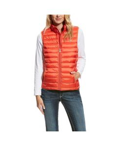 Ariat Ladies Ideal Down Vest Calypso Coral