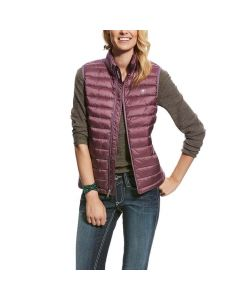 Ariat Ladies Ideal Down Vest Liquorice Root