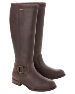Dubarry Ladies Limerick Country Boots Old Rum