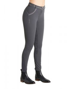 Montar Ladies Harper Contrast Piping Full Grip Breeches