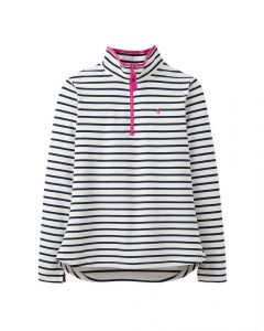 Joules Ladies Fairdale Sweatshirt With Zip Neck