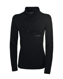 Pikeur Ladies Amina Long Sleeve Sequin Top Black