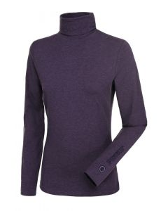 Pikeur Ladies Sina Polo Neck Pullover Grape Melange
