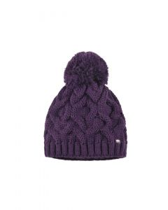 Pikeur Ladies Bobble Hat Grape Melange