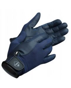 LeMieux Pro Touch Performance Riding Gloves Navy