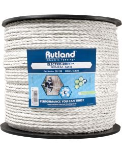 Rutland 6mm Maxi Electro-Rope White