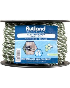 Rutland 6mm Electro-Rope Green/White