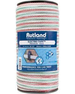 Rutland 20mm Maxi Electro-Tape White