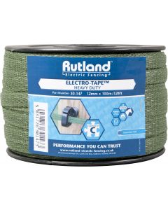 Rutland 12mm Electro-Tape Green