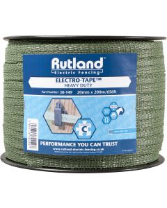 Rutland 20mm Electro-Tape Green