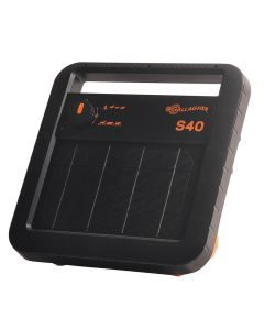 Gallagher Electric Fencing S40 Solar Powered Energiser with Battery