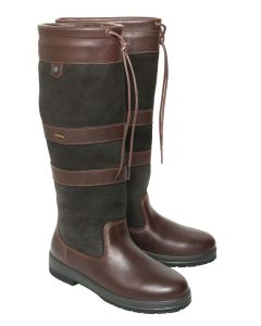 Dubarry Ladies Galway Boot Black/Brown