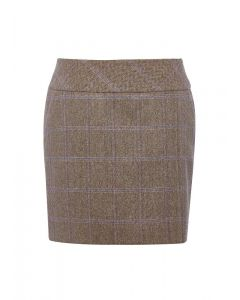 Dubarry Ladies Bellflower Tweed Skirt Woodrose