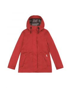 Hunter Ladies Original Rubberised Jacket Military Red