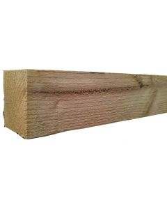 1.8m X 75mm X 150mm Sawn Fence Post - Cheshire, UK