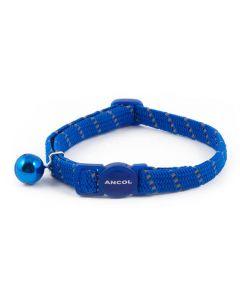 Ancol Softweave Reflective Elastic Cat Collar
