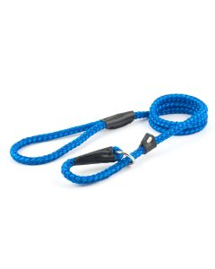 Ancol Rope Slip Dog Lead Blue