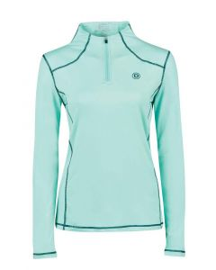 Dublin Ladies Diamond Long Sleeve Performance Top Mint