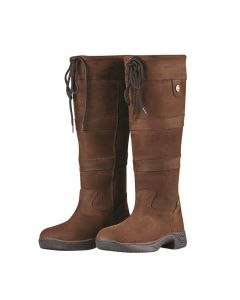 Dublin Ladies River Boots III Country Boots Chocolate