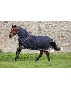 Horseware Rambo Duo Turnout Rug Bundle Navy/Beige