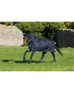 Horseware Amigo Bravo 12 Plus Turnout Rug Bundle Dark Navy