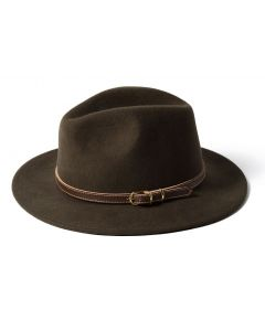 Failsworth Adventurer Wide Brim Felt Hat Turf