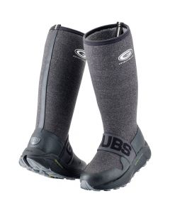 Grubs Womens Adventure Boot Charcoal and Black