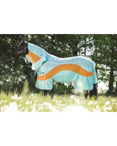 Horseware Amigo Vamoose Evolution Fly Rug Aqua/Orange
