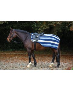 Horseware Rambo Newmarket Competition Sheet Whitney Stripe Navy