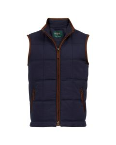 Alan Paine Mens Kexby Gilet Navy