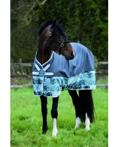 Horseware Amigo Hero 6 Lite Turnout Rug 0g Castle Rock Print