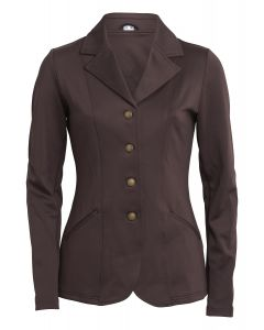 Montar Ladies Ava Competition Jacket Brown with Stone
