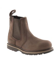 Buckler Steel Toe Dealer Boot Brown B1150