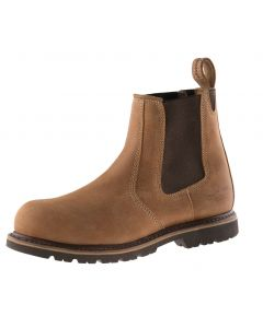 Buckler Steel Dealer Boot Brown B1151