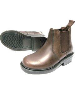 Oaktrak Walton Kids Dealer Boots Waxed Brown