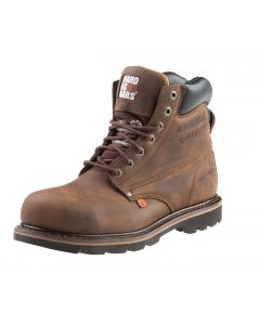 Buckler Lace Up Safety Boot Brown B425SM