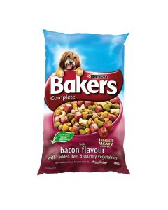 Bakers Complete Bacon and Liver Dog Food 14kg