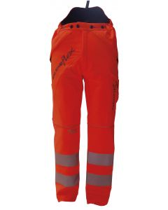 Arbortec Breatheflex Type C Class 1 Chainsaw Trousers Hi Vis Orange
