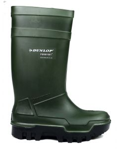 Dunlop Purofort Thermo Plus Safety Wellingtons Green