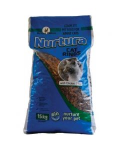 H J Lea Oakes Nurtura Cat Rings 15kg