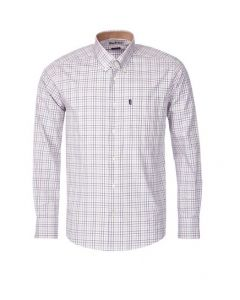 Barbour Mens Charles Shirt Copper