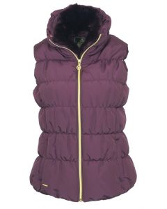 Toggi Ladies Colbert Padded Gilet Berry
