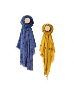 Joules Ladies Corin Flocked Scarf