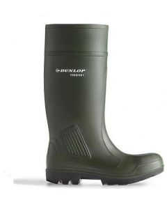 Dunlop Purofort Professional Non Safety Wellingtons Green