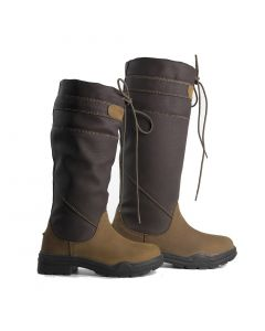 Brogini Childrens Derbyshire Country Boots Brown