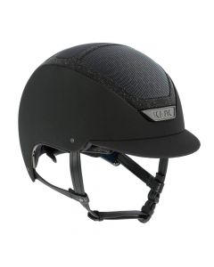KASK Dogma Chrome Light Riding Helmet Swarovski Frame Black