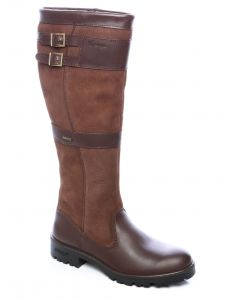 Dubarry Ladies Longford Country Boots Walnut
